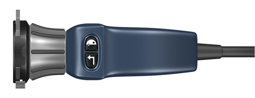 3D-Grafik einer Endoskop-Kameras