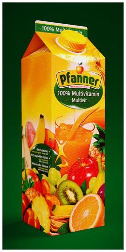 Pfanner Getränke GmbH | Website, Mobile u. 3D