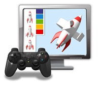 Icon Leistungen 3D-Echzeitanwendung
