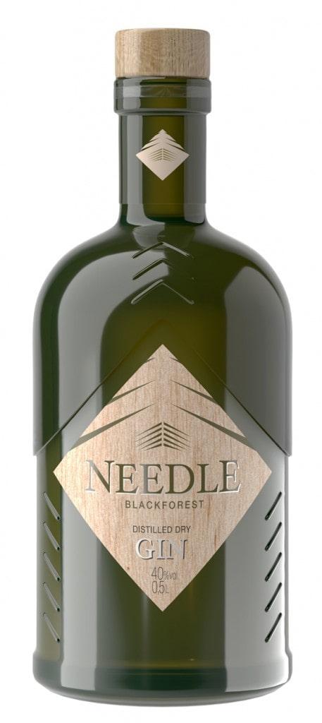 Needle-Gin Packshot-Rendering